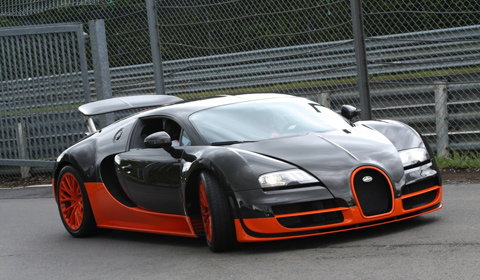 Bugatti Veyron Supersports at the Nurburgring Nordschleife