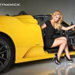 Cars & Girls Ferrari 599, F430 Scuderia Spyder 16M and Caitlin Hixx