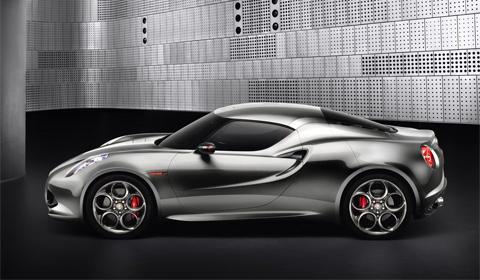 Alfa Romeo 4C Concept Fluid Metal