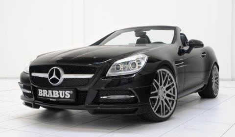 Official brabus sport program for mercedes benz slk r172 for Official mercedes benz parts