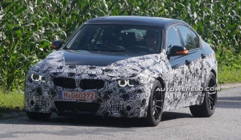 Spyshots 2014 BMW F32 M3 Test Mule