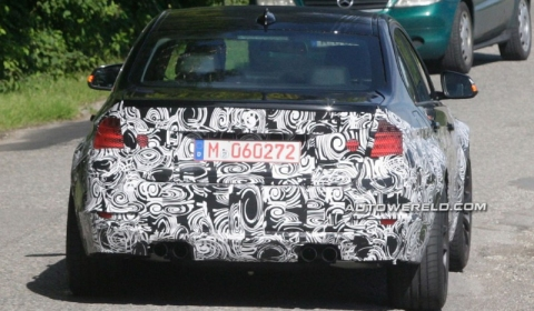 Spyshots 2014 BMW F32 M3 Test Mule 02