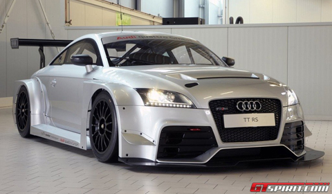 audi tt rs race car goes on sale gtspirit. Black Bedroom Furniture Sets. Home Design Ideas