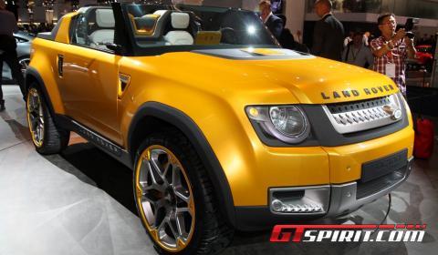 IAA 2011: Land Rover DC100 Sport Concept - GTspirit