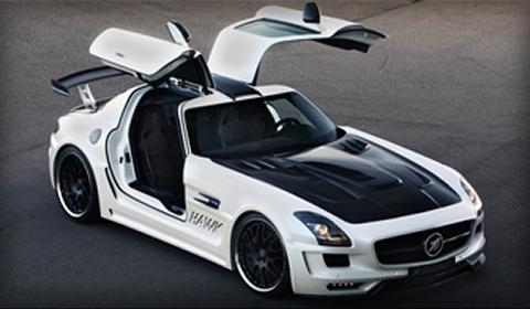 White Hamann SLS AMG Hawk