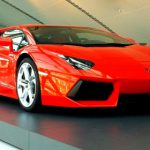 Photo Of The Day Orange Lamborghini LP700-4 Aventador