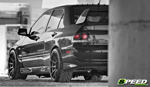 Video Mitsubishi Lancer Evo IX MR with +870hp at 11,000rpm