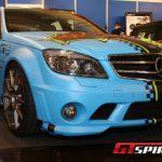 Essen 2011 BlueGreen Eliminator Mercedes-Benz C 63 AMG Performance by Wimmer RS