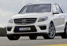 Official 2012 Mercedes-Benz ML 63 AMG