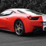 Overkill Ferrari 458 Italia with Italian Flag Wrap