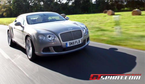 Road Test New Bentley Continental GT