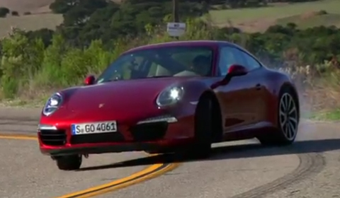 Video Chris Harris - EVO Tests 2012 Porsche 911 (991) Carrera S PDK