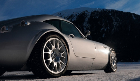 Wiesmann on Snow 2012 Event in the Alps