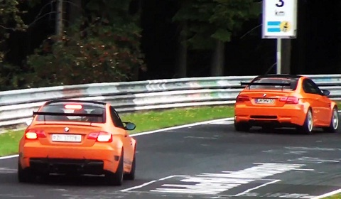 Six BMW M3 GTS at Nürburgring Nordschleife