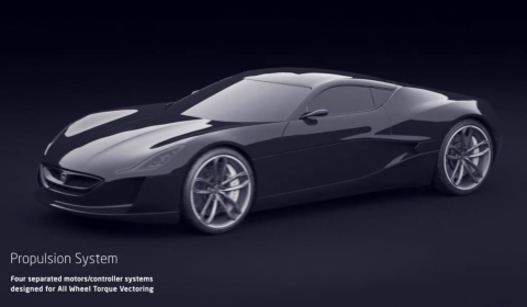 Video Rimac Concept One at Rimac Factory