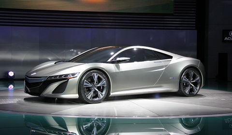 Production Version Acura NSX Debuts at Detroit Motor Show 2013 ...
