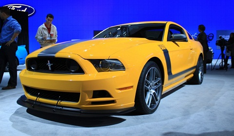 Ford Mustang Boss 302 at Detroit