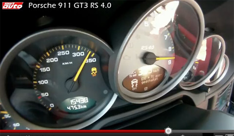 Porsche 911 GT3 RS 4.0 Braking Record