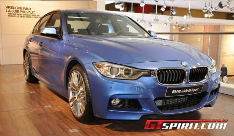 Brussels BMW I M Sport GTspirit - 2012 bmw 335i m sport