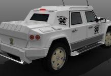 Rendering Akon's Armoured Dartz Prombron SUV