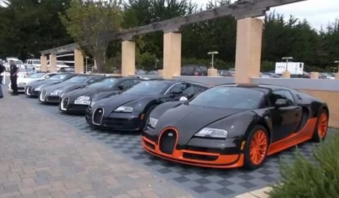 Video: 22 Bugatti Veyrons in One Video Clip - GTspirit on aston martin youtube, corvette zr1 youtube, bad youtube, mercedes benz youtube, hennessey venom gt youtube, koenigsegg youtube, blank space youtube,