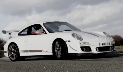 Video Chris Harris' 911 GT3 RS 4.0 Last Drive Before Hibernation