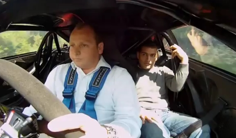 Video Chris Harris' Passenger Ride in McLaren F1 GTR