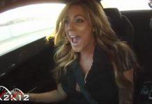 Video Gisele in 1250whp Underground Racing Lamborghini
