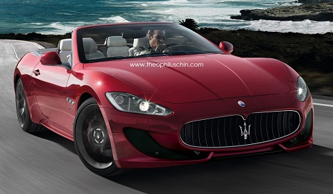 2013 Maserati Grancabrio Sport Rendered By Theophiluschin Gtspirit