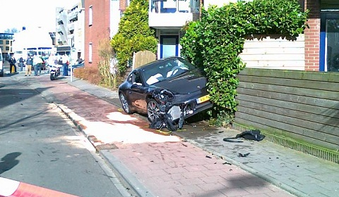 First Porsche 991 911 Wrecked in the Netherlands