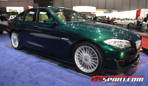 Geneva 2012 BMW Alpina B5 BiTurbo with power upgrade