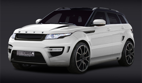 official onyx concept range rover evoque rouge edition gtspirit. Black Bedroom Furniture Sets. Home Design Ideas