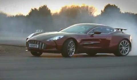 Video Aston Martin One 77 Passenger Ride By Autocar
