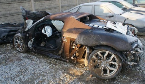 Car Crash Audi R8 Involved In Tragic Accident Poland
