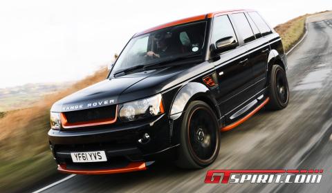Road Test Kahn Design Vesuvius Edition Range Rover Sport