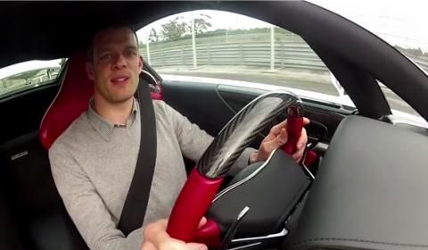 Video Alex Wurz Drives Lexus LFA at Estoril