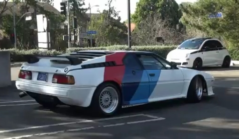 Video BMW M1 Fitted with AHG Package