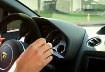 Video Driving a Twin Turbo Lamborghini Gallardo by Underground Racing