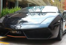 Video Lamborghini Gallardo LP550-2 Singapore Limited Edition