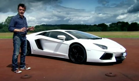 Video Richard Hammond Tests the Lamborghini Aventador LP700-4