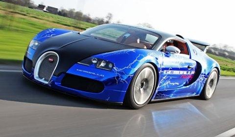 Bugatti Veyron Sang Gemballa Blue by Gemballa Racing