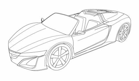 Design Sketches Honda Nsx Spider Filed