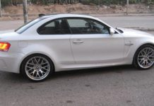 Egyptian Owner Converts BMW E82 1-Series into 1M with M3 V8