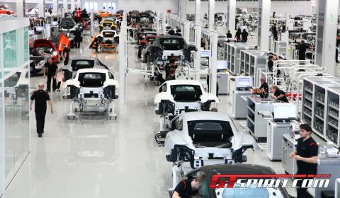 Factory Visit McLaren Headquarters McLaren Production Centre