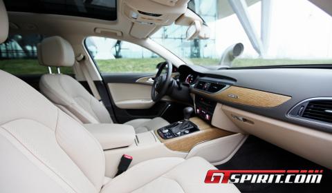 First Drive 2012 Audi A6 3.0 TDi Avant 02