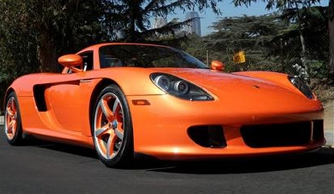 For Sale Pearl Orange 2005 Porsche Carrera Gt Gtspirit