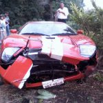 Ford GT Crash 2009