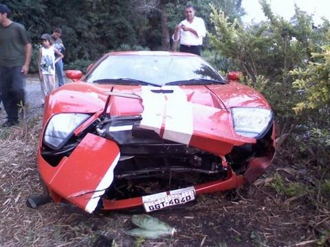 Ford Gt Crash