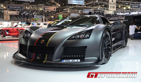 Geneva 2012 Gumpert Apollo Enraged