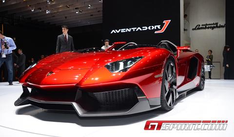 Geneva 2012 Lamborghini Aventador J